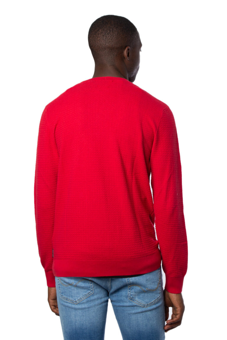 Maglione Armani Exchange Knitted Pullover Rosso - Foto 3