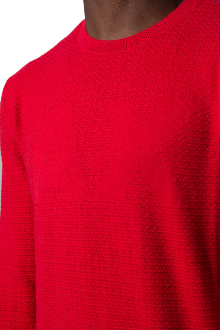 Maglione Armani Exchange Knitted Pullover Rosso - Foto 4