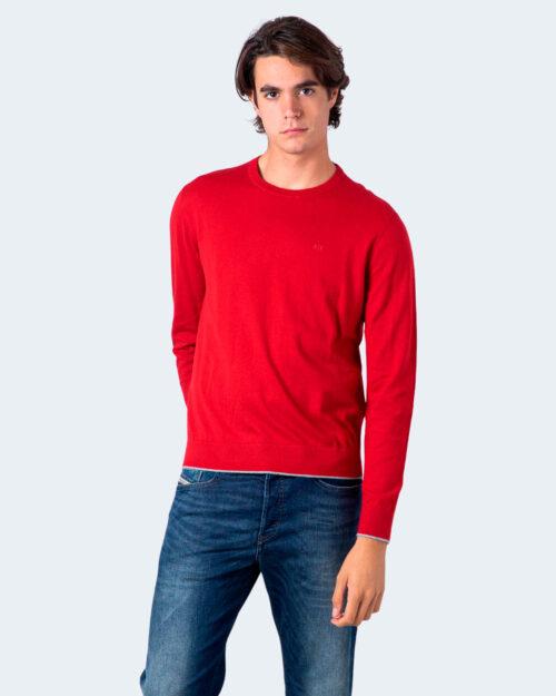Maglia Armani Exchange LOGO PICCOLO Rosso – 54839