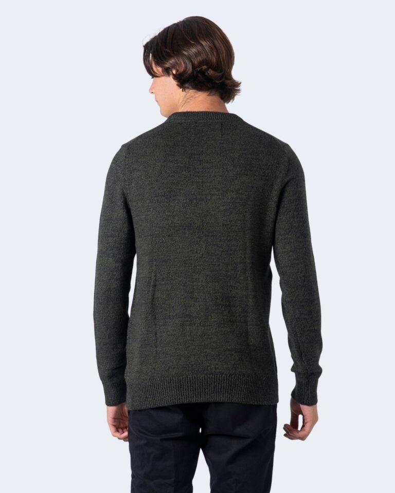 Maglione Calvin Klein Jeans TWISTED YARN CK LOGO Verde - Foto 4