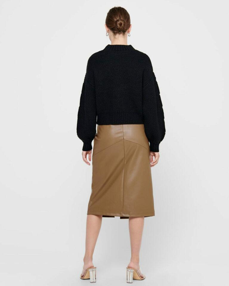Maglione Jacqueline de Yong JULIA Nero - Foto 2