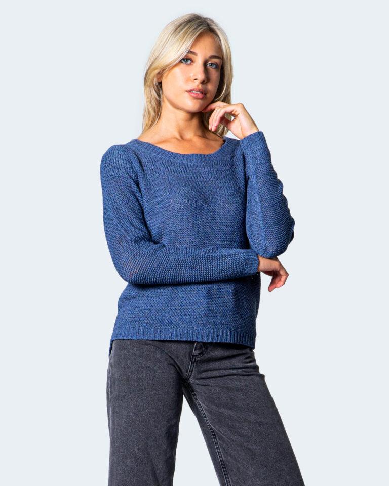 Maglione Only Geena XO L/S Knt Blu Chiaro - Foto 1