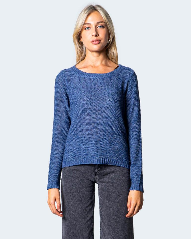 Maglione Only Geena XO L/S Knt Blu Chiaro - Foto 3