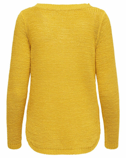 Maglione Only GEENA XO L/S PULLOVER KNT NOOS Giallo – 27165