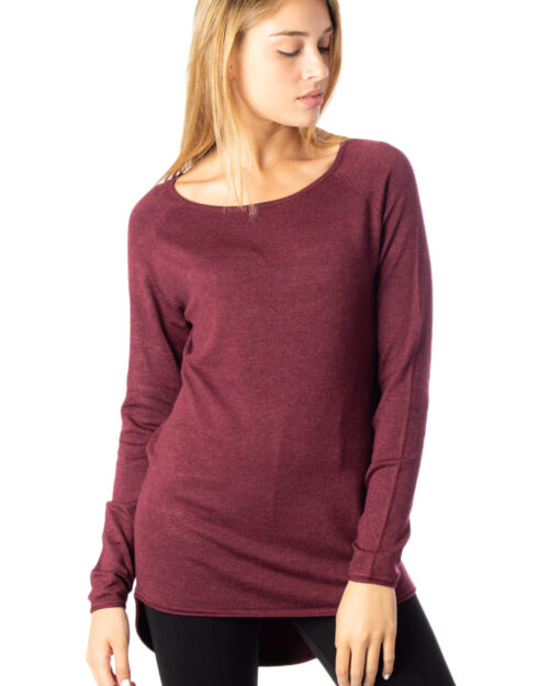 Maglione Only MILA LACY LONG PULLOVER KNT NOOS Marrone - Foto 1