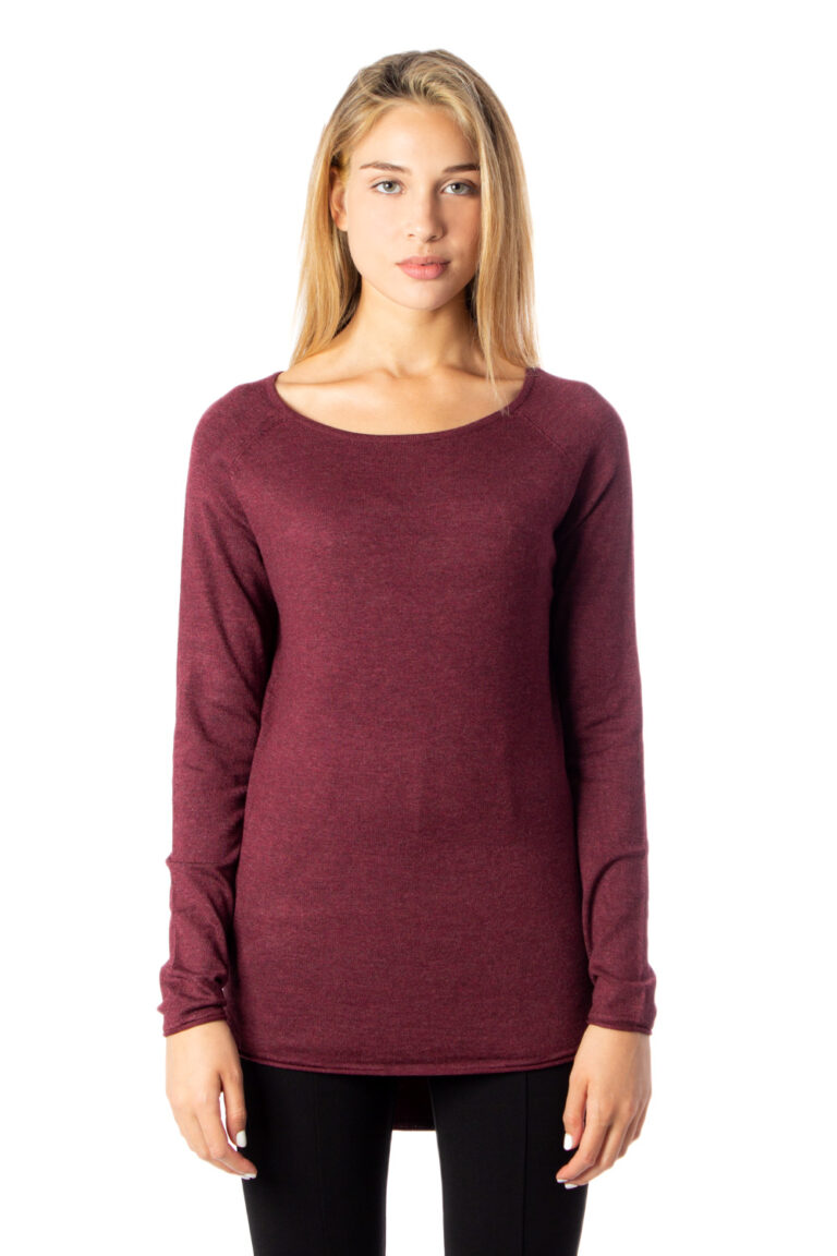 Maglione Only MILA LACY LONG PULLOVER KNT NOOS Marrone - Foto 2