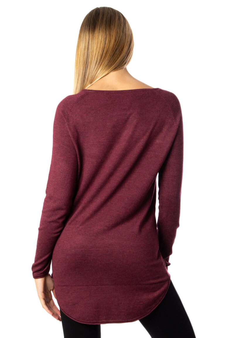 Maglione Only MILA LACY LONG PULLOVER KNT NOOS Marrone - Foto 3