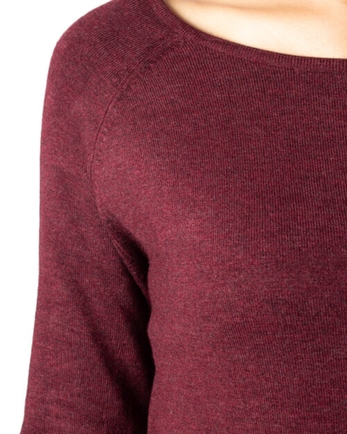 Maglione Only MILA LACY LONG PULLOVER KNT NOOS Marrone - Foto 4