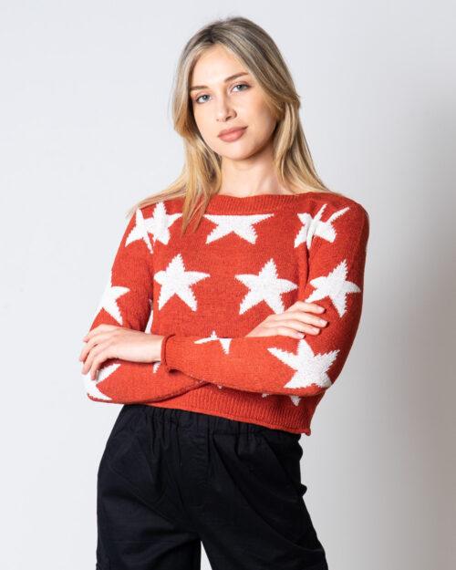 Maglione Only Star L/S Pullover KNT Mattone – 45470