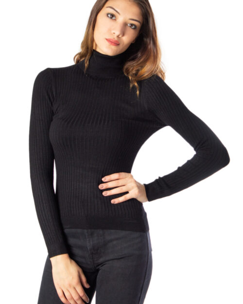 Maglione Only Karol L/S Rollneck Pullover Knt Noos Nero – 36707