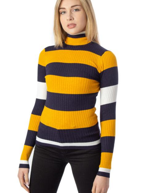 Maglione Only Karol L/S Rollneck Pullover Knt Noos color Ocra – 40496