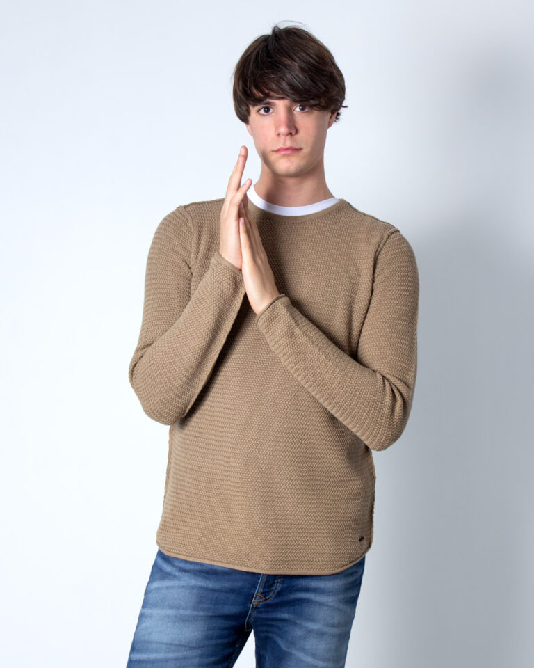 Maglia Only & Sons Through Beige scuro - Foto 1