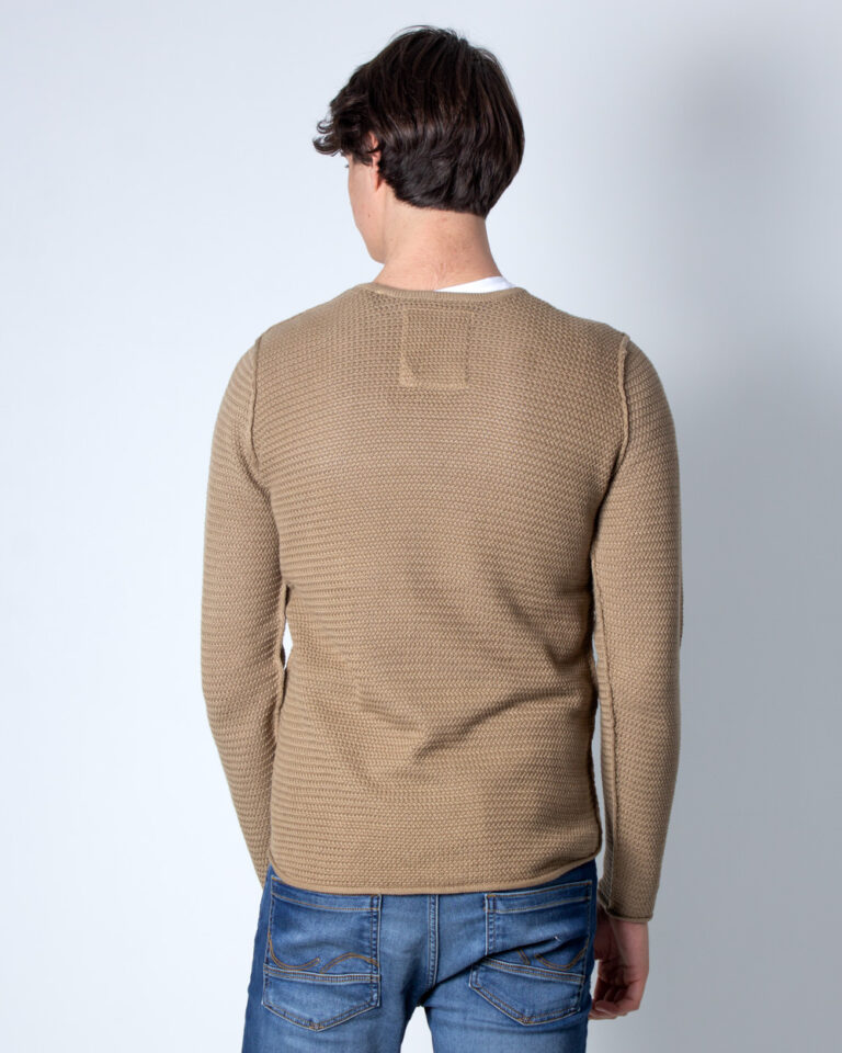 Maglia Only & Sons Through Beige scuro - Foto 2