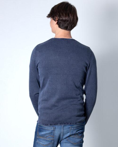 Maglione Only & Sons GARSON WASH CREW NECK Blu Chiaro – 14406