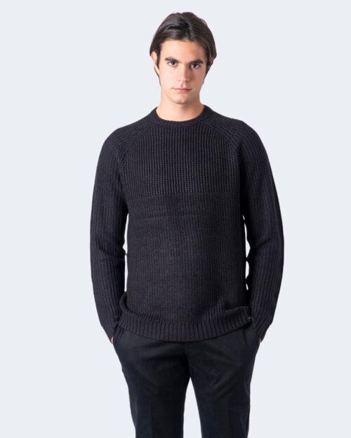 Maglione Only & Sons Kelvin 5 Struc Crew Neck Knit Nero – 61198