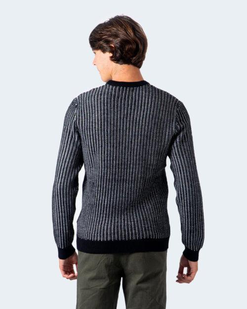 Maglione Only & Sons Sport 7 Struc Crew Neck Knit Nero – 54641