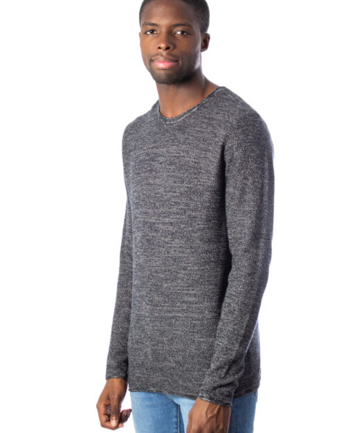 Maglione Only & Sons WICTOR 12 STRUCTURE CREW NECK Nero – 27147