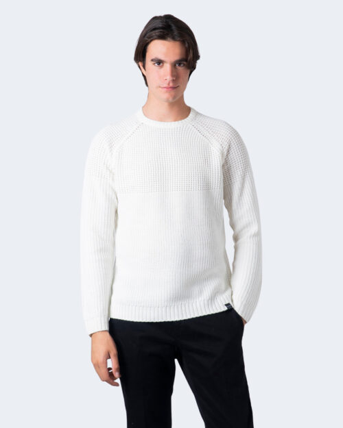 Maglione Only & Sons Kelvin 5 Struc Crew Neck Knit Panna – 61198