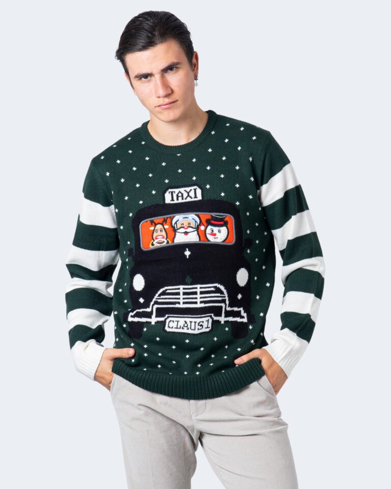 Maglione Only & Sons Xmas Verde - Foto 1