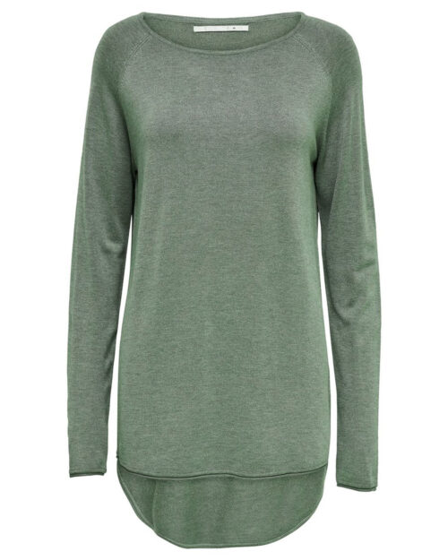 Maglione Only MILA LACY L/S LONG PULLOVER KNT NOOS Verde – 27359