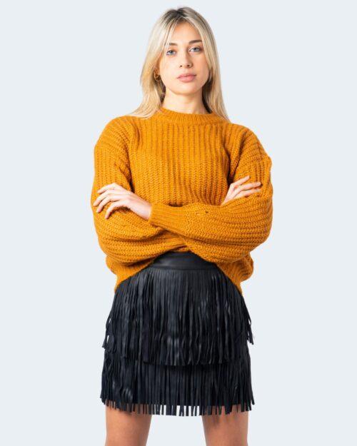 Maglione Vila Clothes Suba Knit O- Neck L/S Top Pb Arancione – 60118