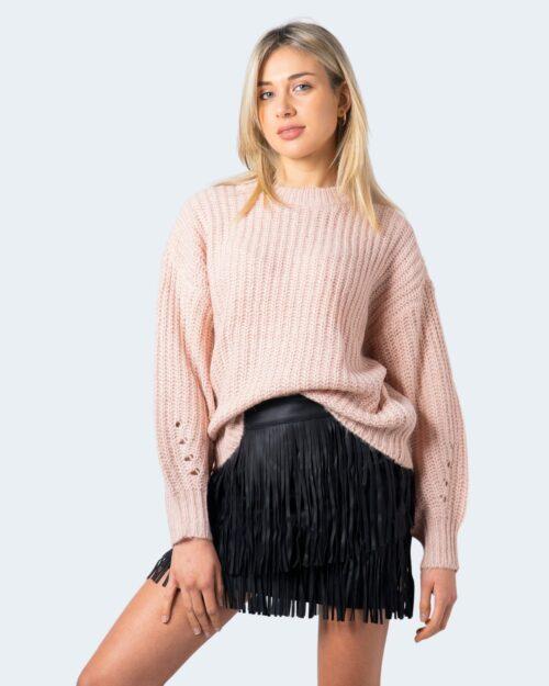 Maglione Vila Clothes Suba Knit O- Neck L/S Top Pb Rosa – 60118