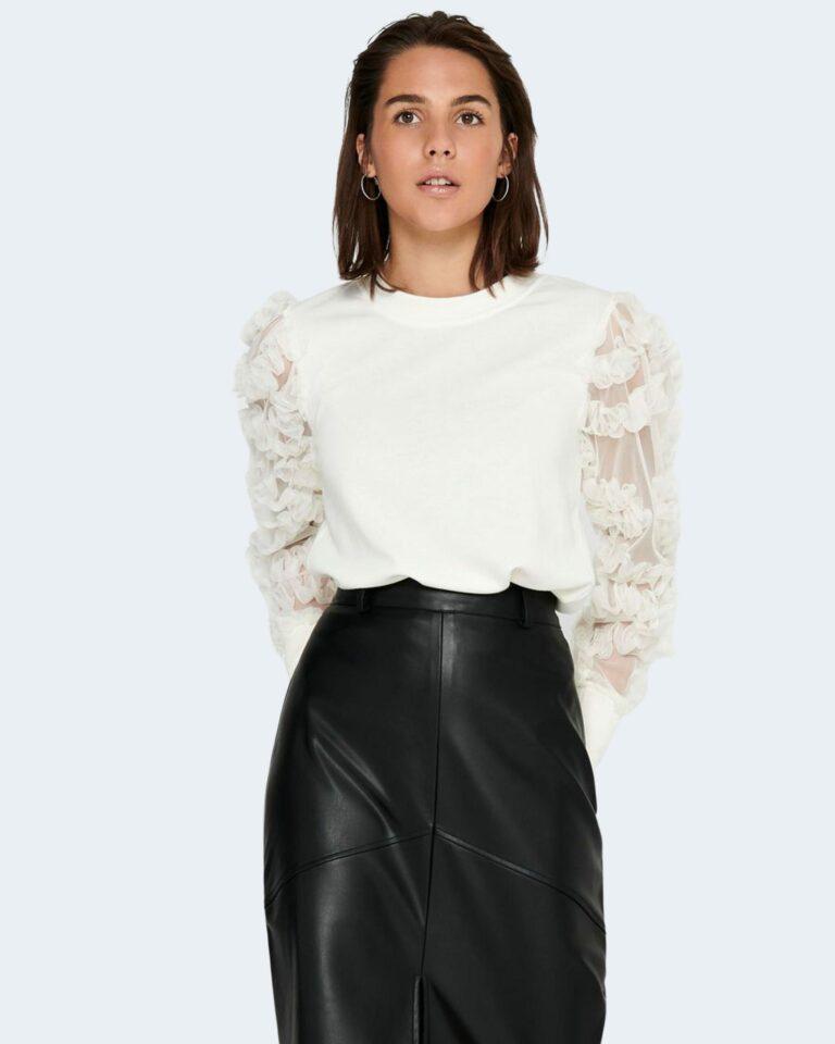 Maglione Jacqueline de Yong FAIRVIEW Panna - Foto 1