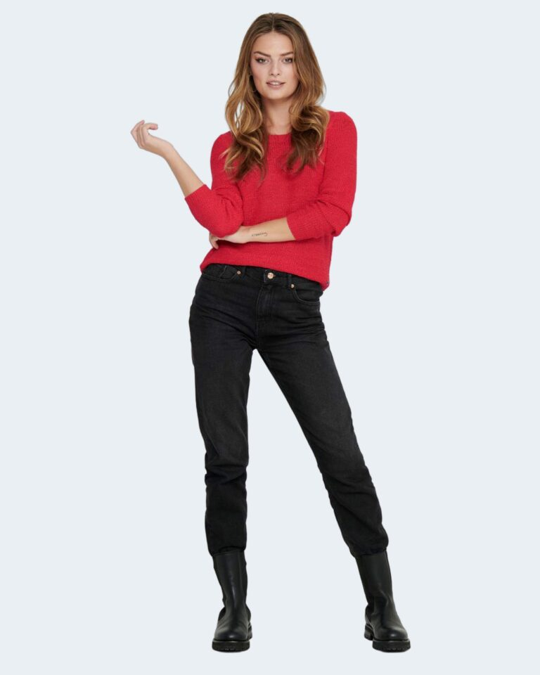 Maglione Only GEENA Rosso - Foto 2