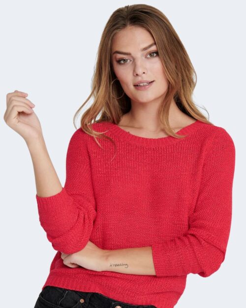 Maglione Only GEENA Rosso - Foto 3