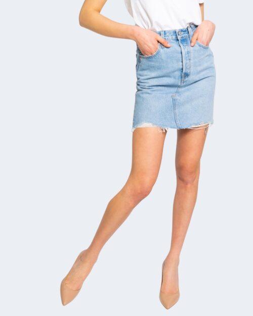 Minigonna Levi's® LUXOR HEAT SKIRT Denim – 67560