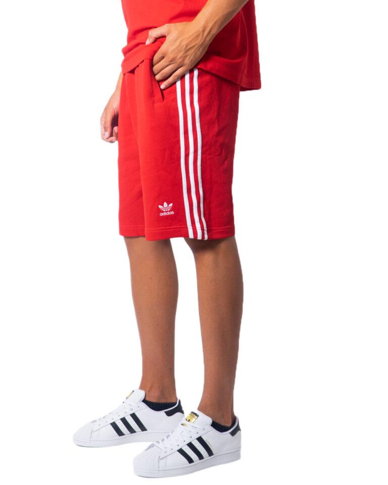 Bermuda Adidas 3-STRIPE Rosso - Foto 5
