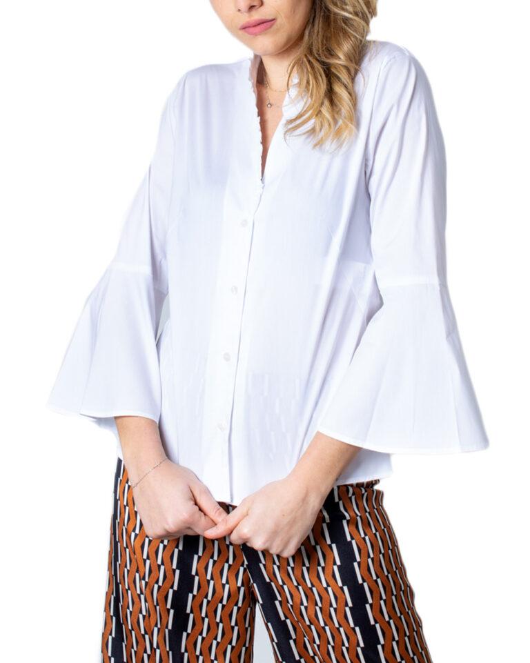 Camicia manica lunga Emme Marella DOMUS Bianco - Foto 5