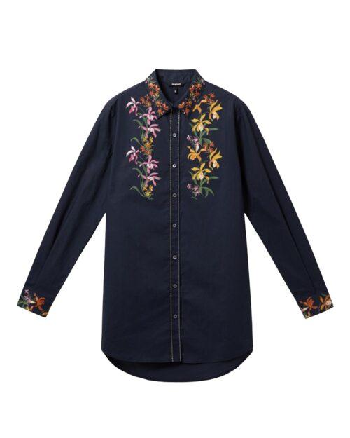 Camicia manica lunga Desigual VAILINA Blu - Foto 5