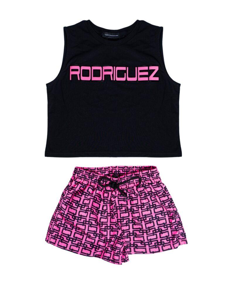Canotta Diego Rodriguez canotta + shorts Fuxia - Foto 5