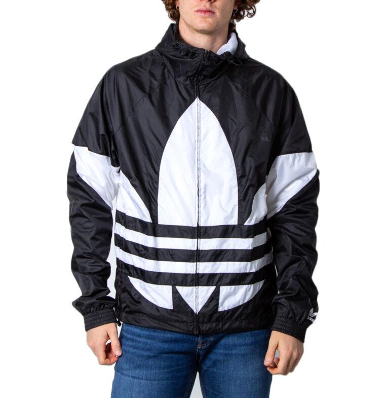 Giacchetto Adidas BIG TREFOIL Nero - Foto 5