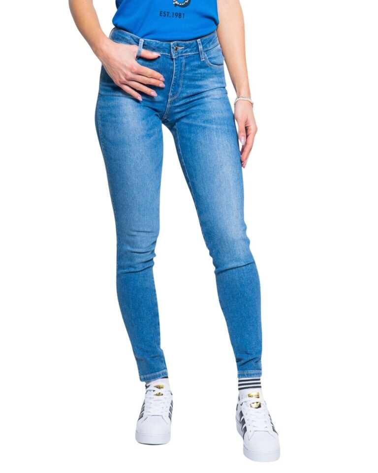 Jeans skinny Guess ULTRA CURVE Denim chiaro - Foto 5