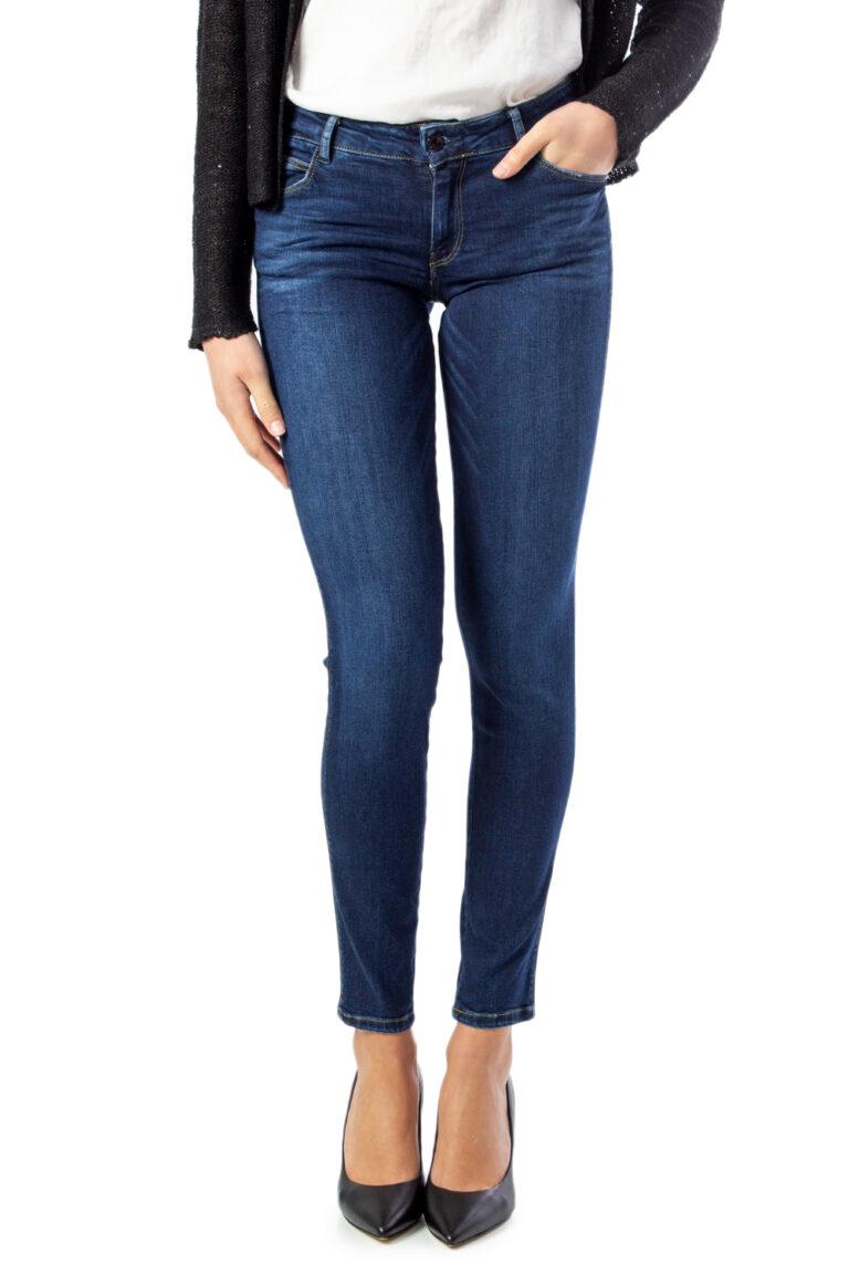 Jeans skinny Guess Ultra Curve Denim scuro - Foto 5