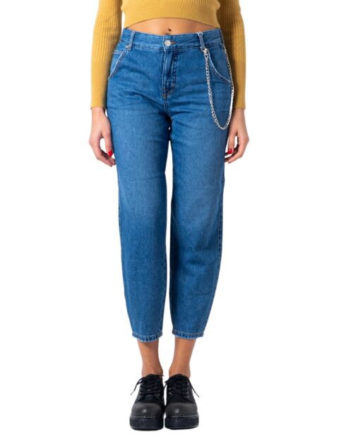 Jeans mom Only TROY LIFE HW MB CARROT Blue Denim - Foto 5