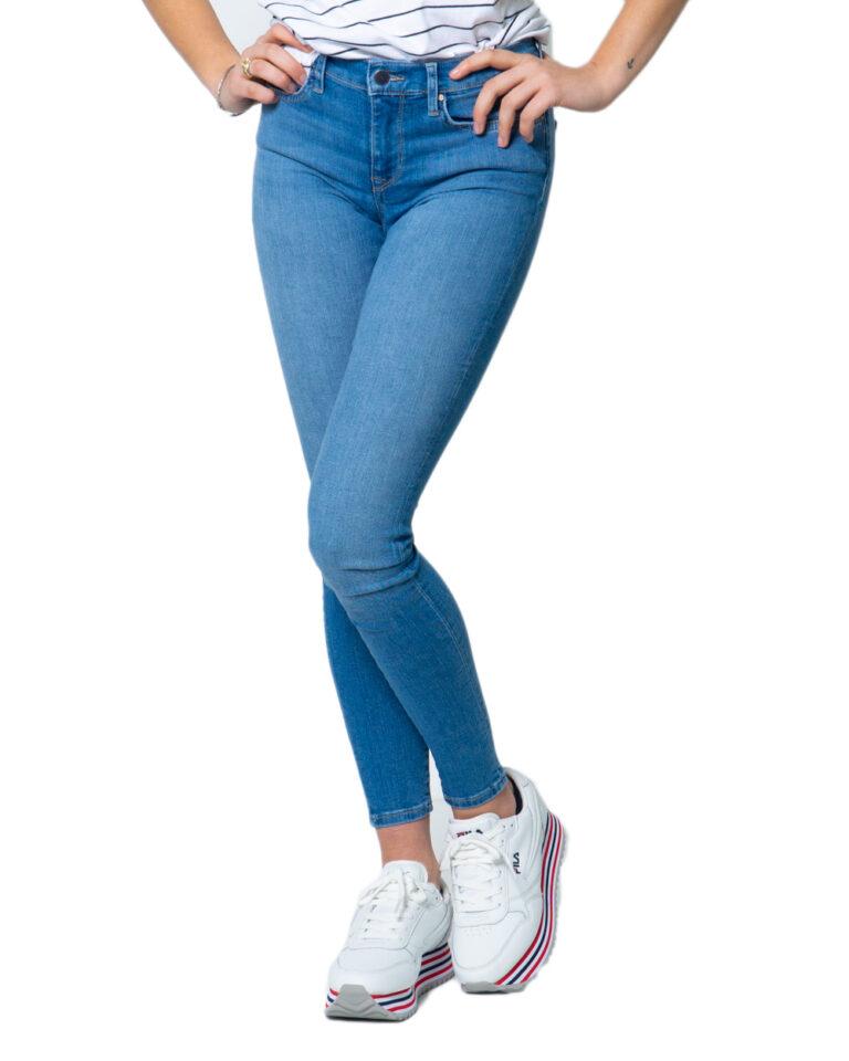 Jeans skinny Only SHAPE REG SK DNM JEANS REA088 Blue Denim Chiaro - Foto 5