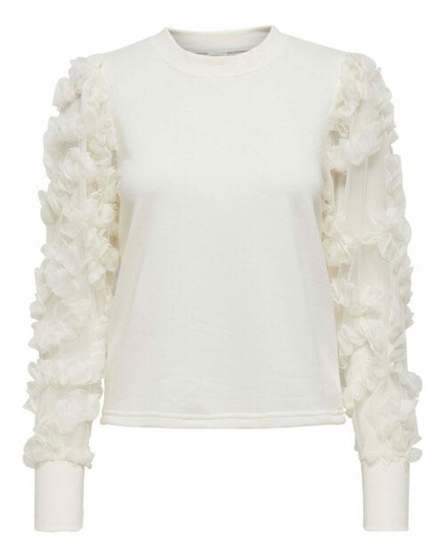 Maglione Jacqueline de Yong FAIRVIEW Panna - Foto 5