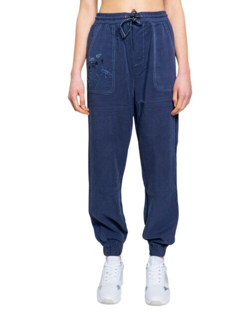Pantaloni Desigual YAKARTA Blue scuro - Foto 5