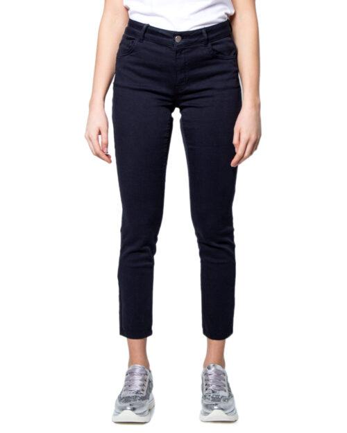 Pantaloni super skinny e skinny Emme Marella IVAN Blue scuro - Foto 5