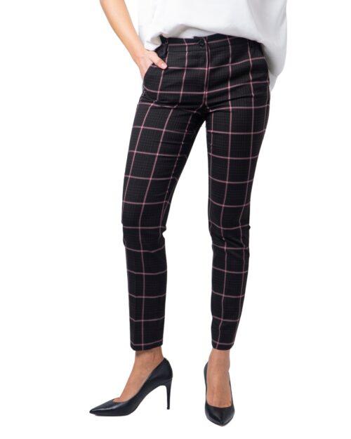 Pantaloni super skinny e skinny Emme Marella AZULENE Marrone - Foto 5