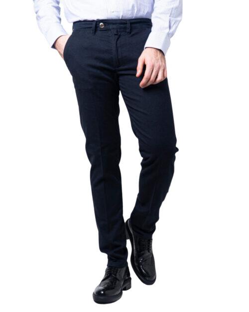 Pantaloni slim ENRICO COVERI ORIONE Blu - Foto 5