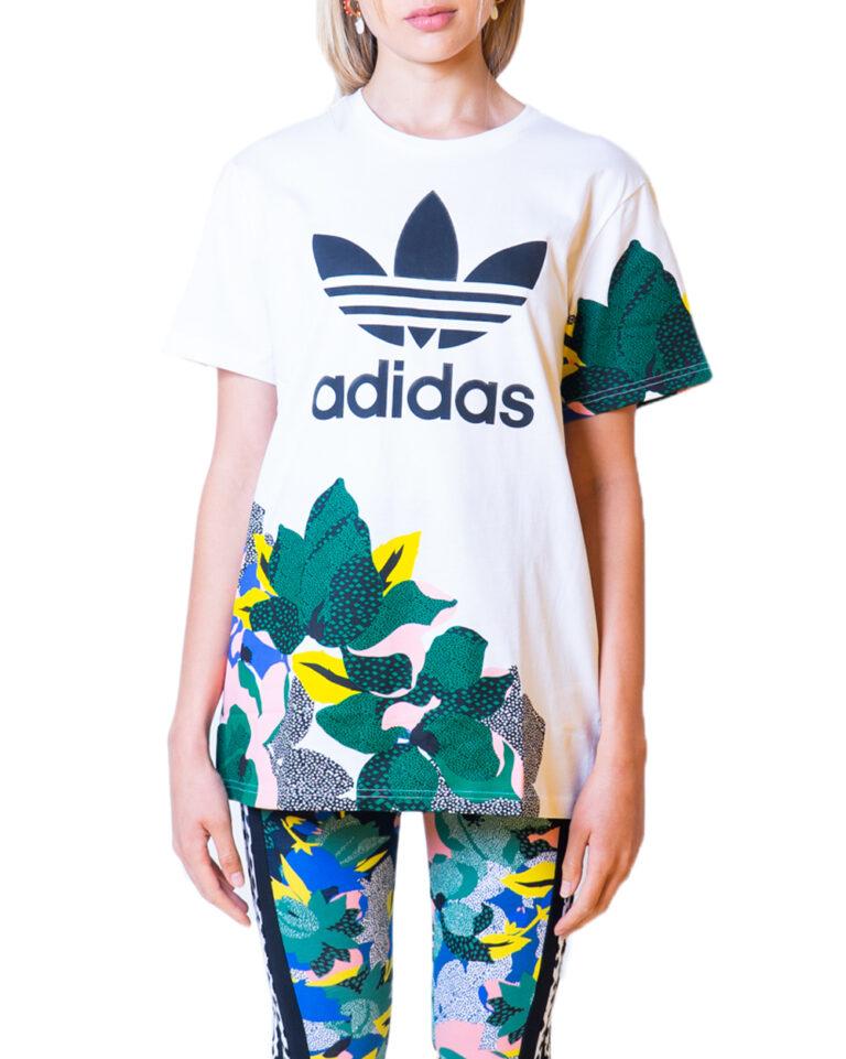 T-shirt Adidas - Bianco - Foto 5