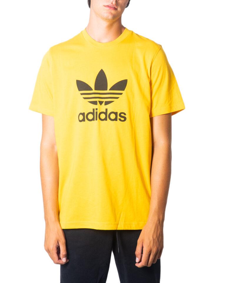 T-shirt Adidas TREFOIL LOGO Ocra - Foto 5