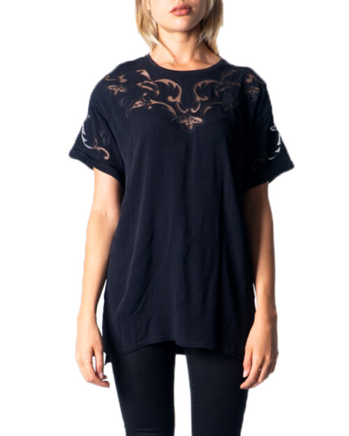 T-shirt Desigual BLUS LUAN Nero - Foto 5