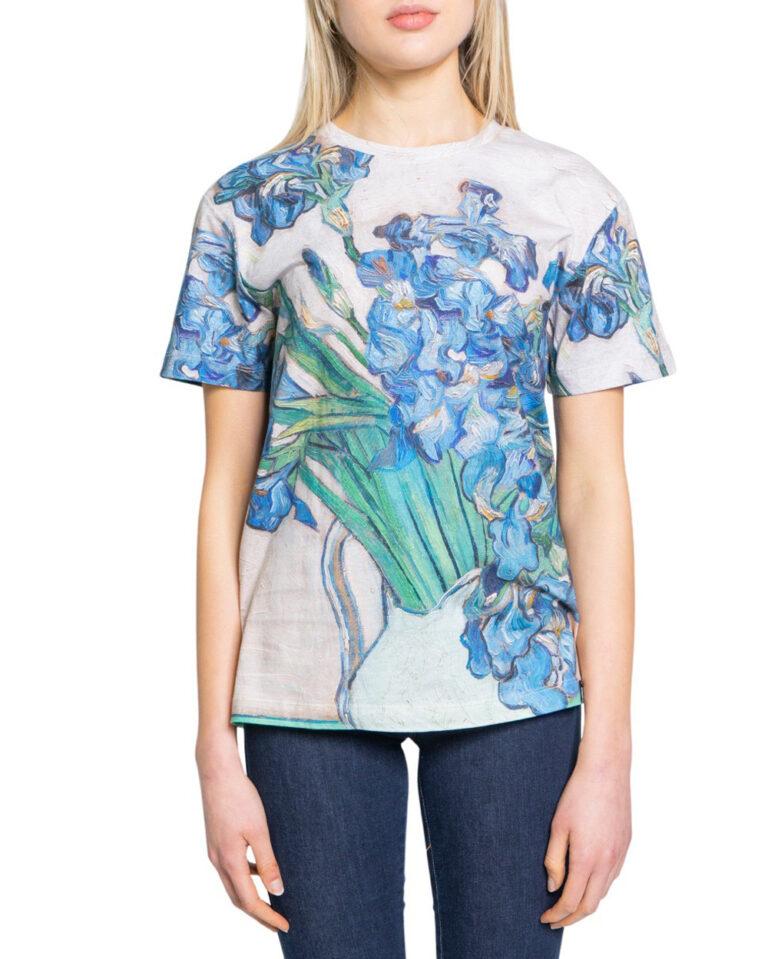 T-shirt Desigual TS VAN GOGH Beige - Foto 5