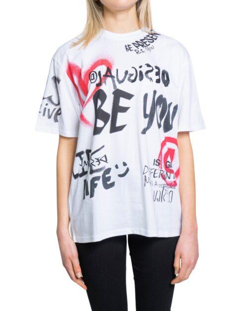 T-shirt Desigual TS OHIO Bianco - Foto 5