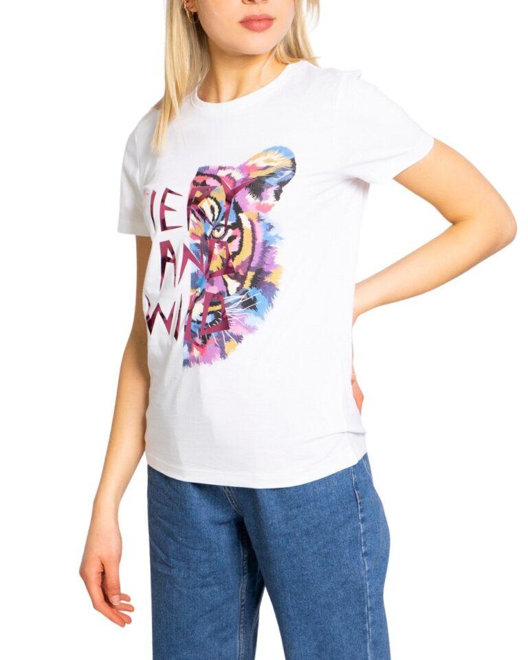 T-shirt Only FAYE Bianco - Foto 5